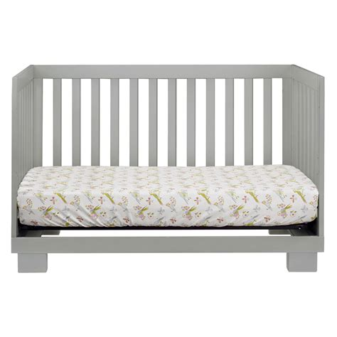 Gray Convertible Crib Grey Modo Convertible Crib By Babyletto Rosenberryrooms