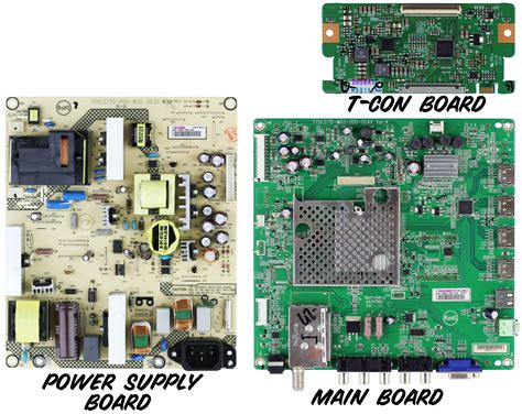 visio troubleshooting vizio replacement parts images