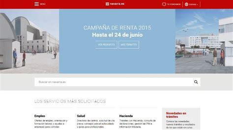 declaracion renta 2015 navarra los navarros ya pueden consultar online su declaraci 243 n de