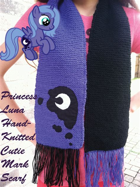 Handmade Knitted Scarves For Sale - princess knitted scarf for sale by inkrose98