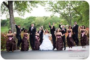 Pink And Brown Color Scheme colour scheme pink and brown wedding bells