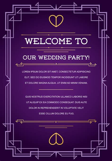 wedding details card template purple purple wedding invitation card template vector 05 vector