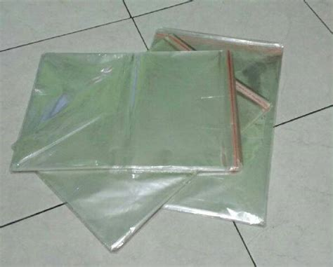 Plastik Opp Baju jual harga plastik opp seal jilbab kerudung