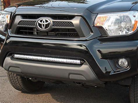 2004 toyota tacoma light bar 2005 2015 toyota tacoma bumper mount kit black rigid