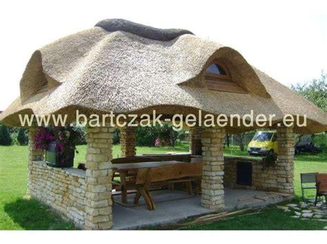 Strohdach Selber Bauen by Gartenpavillon Mit Reetdach Gartenpavillon Holz Reetdach
