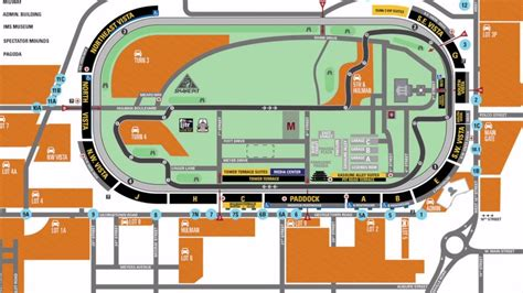 indy 500 map ims parking spots nearly sold out ahead of 101st running
