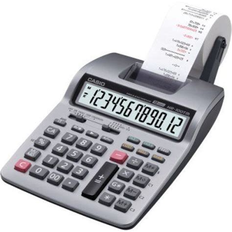 casio hr 100tm two color printing calculator 12 digit 2
