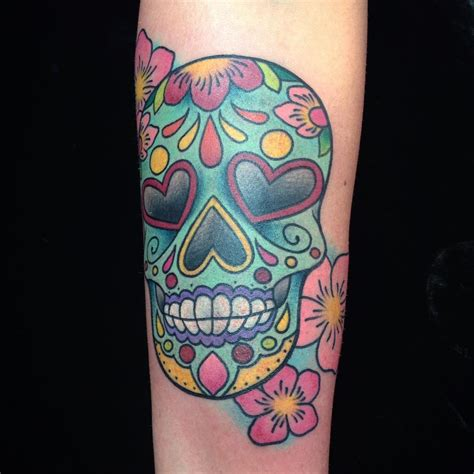 candy skulls tattoos 125 best sugar skull designs meaning 2018