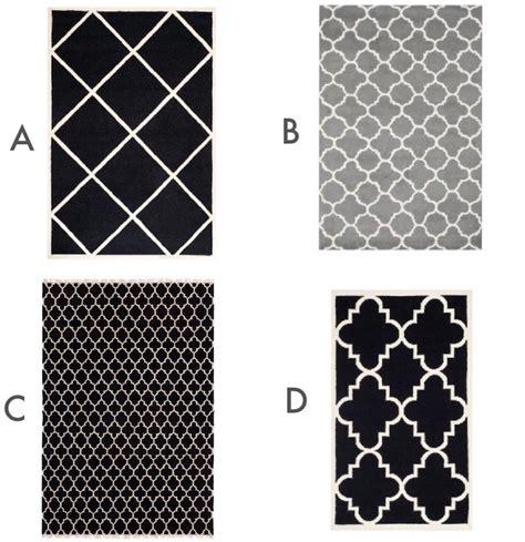 schwarz weiss teppich living immer sch 246 n auf dem schwarz weiss grauen teppich