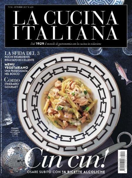 pdf cucina italiana la cucina italiana ottobre 2017 pdf free