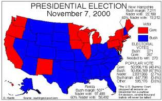 us election map 2000 virginia national politics 2000