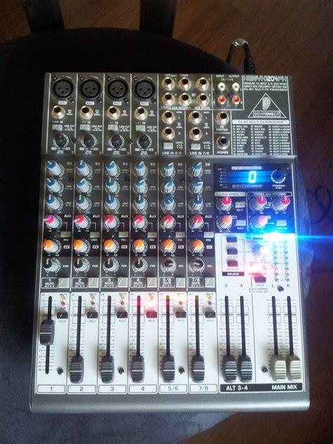Mixer Behringer Xenyx 1204fx Behringer Xenyx 1204fx Image 449840 Audiofanzine