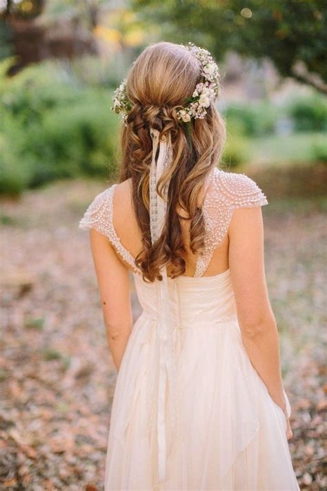 23 stunning half up half down wedding hairstyles for 2016 latest trendiest exclusively amazing half up half down