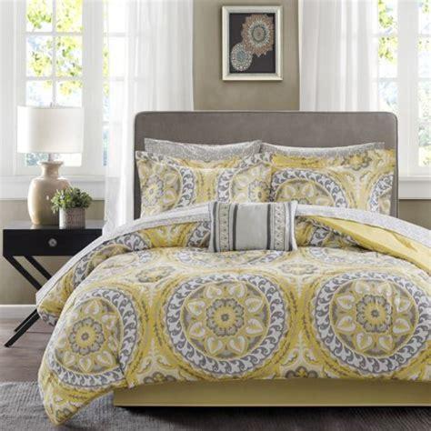 yellow pattern sheet set king size comforter set yellow gray medallion pattern 9