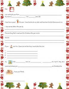 List For Santa Template Santa Wish List Template Free Printable Colorings Net