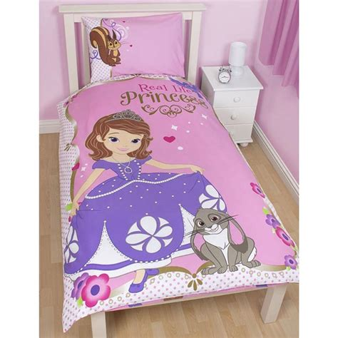 Disney Princess Quilt Cover by Disney Princess Sofia The Single Duvet Cover New
