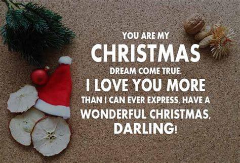 christmas wishes  girlfriend romantic christmas
