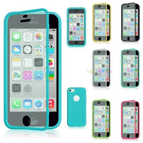 transparent soft silicone tpu pc flip back cover for iphone 5s 5c 6 6s plus ebay