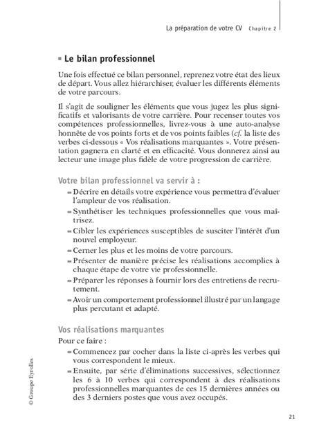 Lettre De Présentation Ingénieur Civil 2006 Eyrolles Le Cv La Lettre Et L Entretien