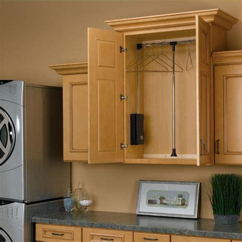 Rev A Shelf Pull Down Chrome Closet Rods   KitchenSource.com