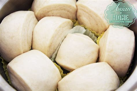 steamed buns recipe mantou 馒头 seonkyoung