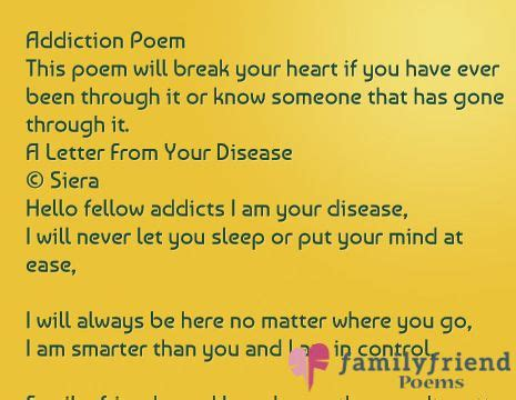 Apology Letter Of An Addict Addiction Poem This Poem Will Your If You Been Through It Or Someone