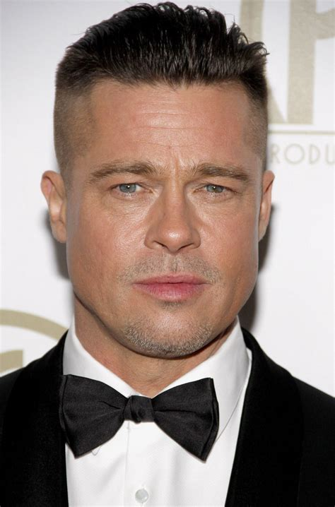brad pitts haircut in seven brad pitt s new hair style love it or hate it photos
