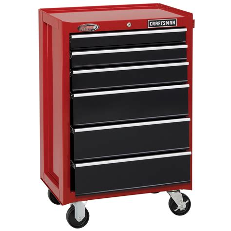 craftsman 26 inch 6 drawer tool chest craftsman 26 w 6 drawer tool chest mobile storage from