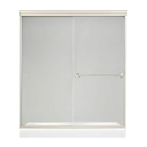 Frameless Glass Shower Doors Home Depot Shower Doors Showers The Home Depot