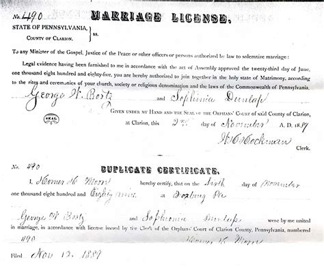 Marriage License Records Pa Allegheny County Pagenweb Vital Records