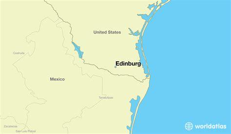 map of edinburg texas where is edinburg tx where is edinburg tx located in the world edinburg map worldatlas