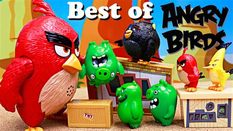 angry birds best angry birds best of parodies with bird with chuck and