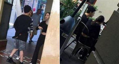 nb taeyang and min hyo rin are in a relationship spotted together taeyang y min hyo rin vistos juntos disfrutando de una
