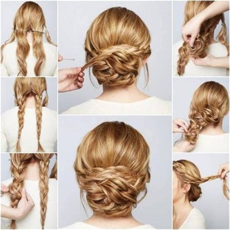 hairstyles tutorial pictures diy braided chignon hair tutorial pictures photos and