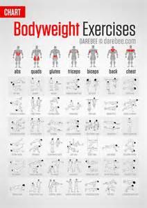 workouts für zu hause bodyweight exercises chart burn detox