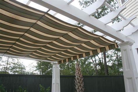 pergola canopy fabric pergola canopy in southern living idea house shadefx canopies