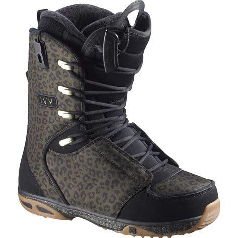 salomon snowboards laces str8jkt snowboard boot