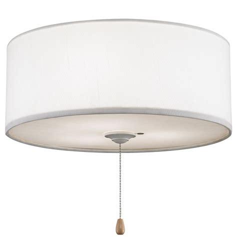 fanimation lk113wh white 3 light halogen light kit with