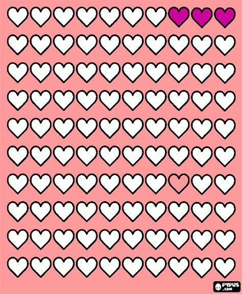 a hundred hearts one hundred designs for coloring crafting and scrapbooking volume 1 books 100 hearts coloring page printable 100 hearts