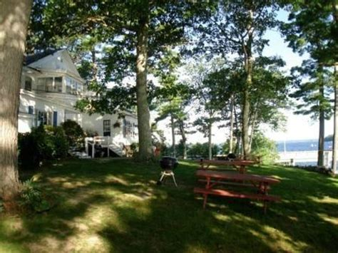 our cottage with a porch picture of sebago lake