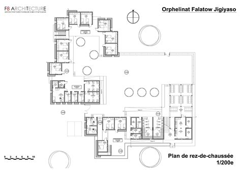 Medieval Manor House Floor Plan Falatow Jigiyaso Orphanage F8 Architecture G 233 Rard