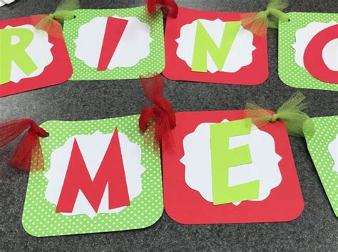 merry grinchmas grinch handmade banner  leslisdesigns  etsy grinch christmas grinch party