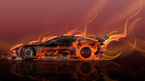 wallpaper abstract car aston martin vulcan side super fire abstract car 2015