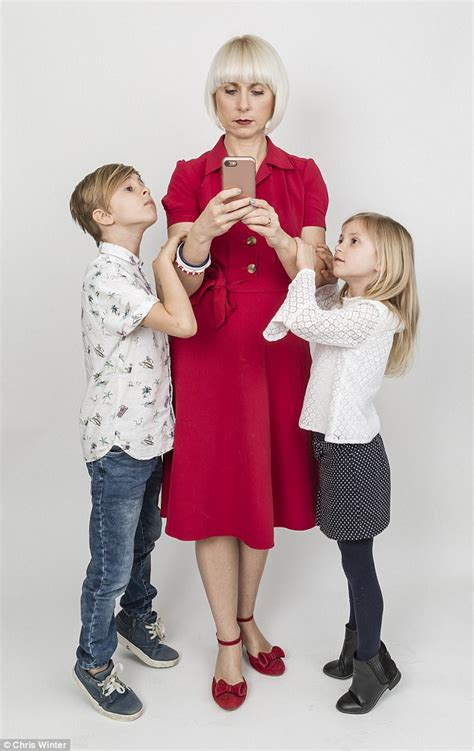 Kate And Take Cell Phones by Mothers Who Are So Glued To Phones They Ignore