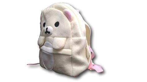 Plush Bag by Rilakkuma White Soft Plush Handbag