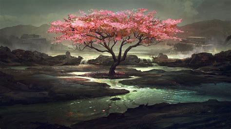wallpaper pink trees pink trees wallpapers wallpaper cave
