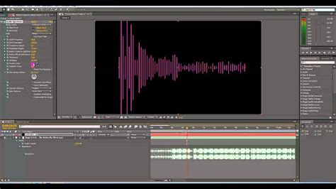 tutorial after effects background after effects audio spectrum background tutorial