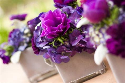 purple flower arrangements centerpieces purple flower centerpieces for summer weddings slideshow