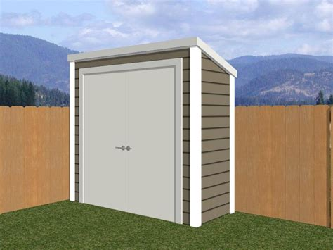 Shed Roof Types by Types Of Sheds You Can Build Based On The Design Of The