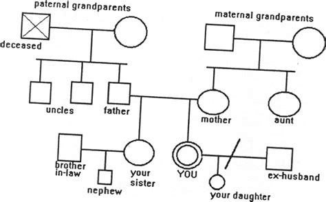 Best Photos Of Do It Yourself Genogram Template 3 Generation Family Genogram Exles Free Free Genogram